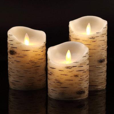 Vinkor Flameless Candles (Set of 3)