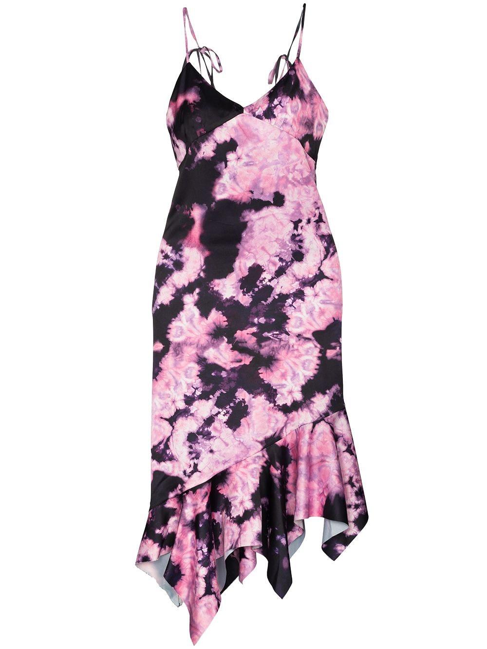 Marques'Almeida tie-dye slip dress