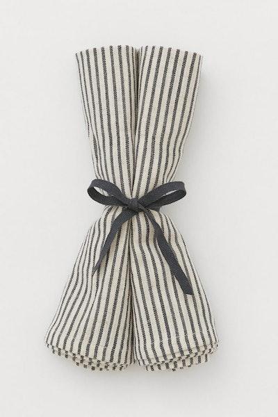 2-pack linen-blend napkins