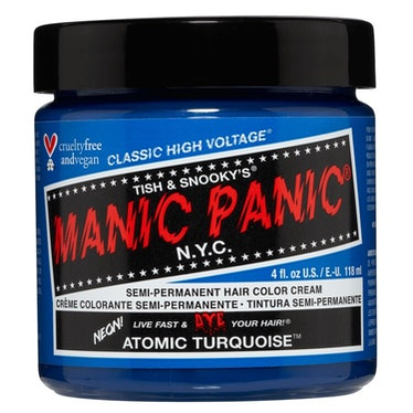 Atomic Turquoise Hair Dye