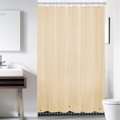 downluxe Frosted Shower Curtain Liner (2-Pack)