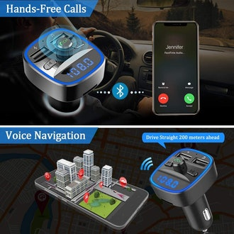 Bovon Bluetooth FM Transmitter for Car
