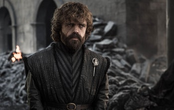 Peter Dinklage as Tyrion Lannister in the Game of Thrones finale