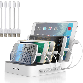 MSTJRY Multi USB Charger Station