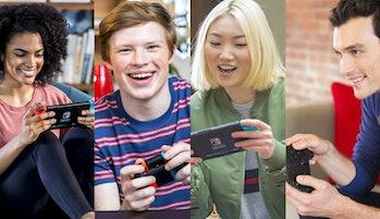 nintendo switch happy gamers