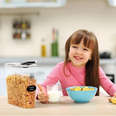 Plastic House Cereal Containers