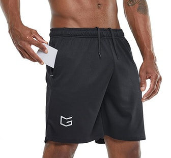 G Gradual Workout Running Shorts with Zip Pockets