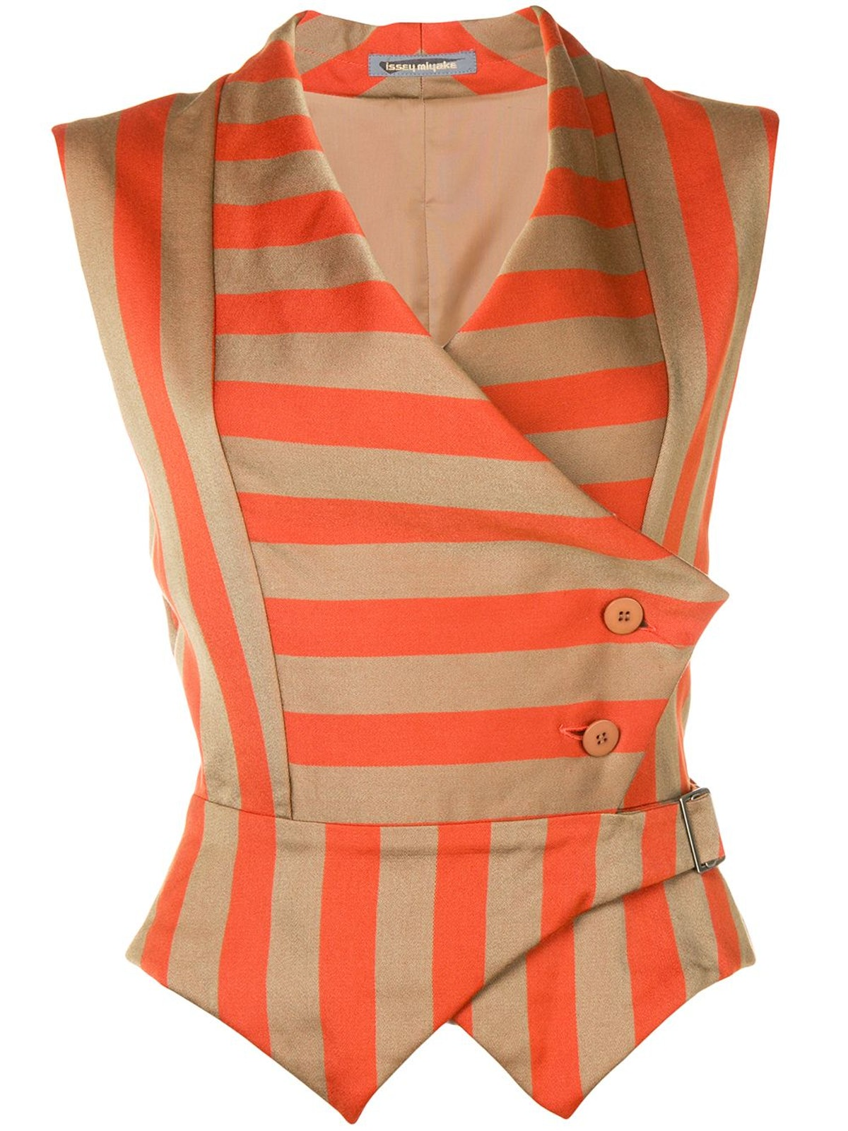 Pre-Owned 1980s Striped Waistcoat
