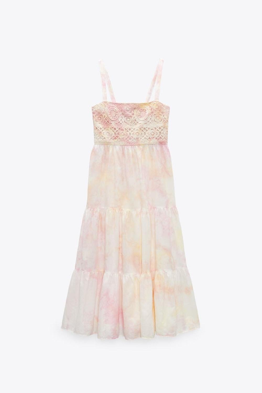 CROCHET TIE-DYE DRESS