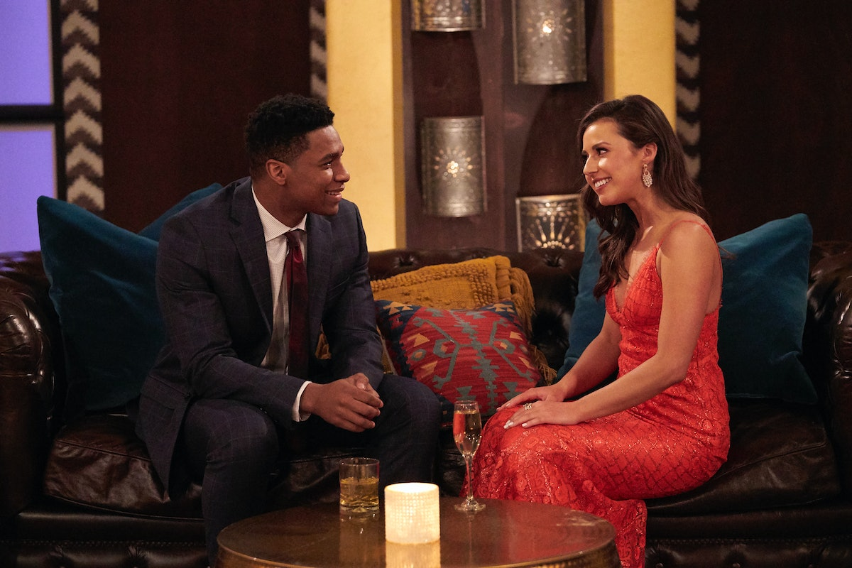 Andrew S and Katie Thurston in 'The Bachelorette' Season 17.