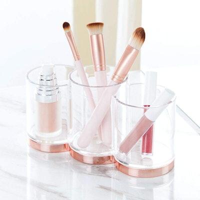 mDesign Makeup Storage Cups