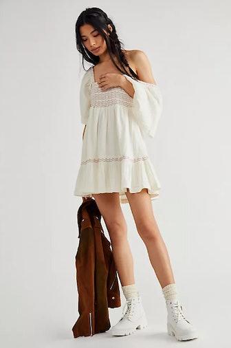Easy To Love Bubble Mini Dress