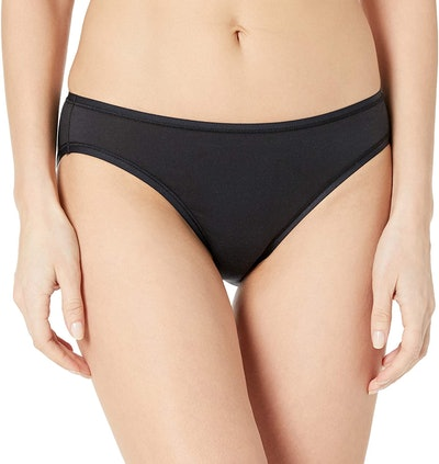 Amazon Essentials Cotton Stretch Bikini (6-Pack)