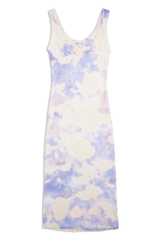 Verona Midi Dress in Lilac Blast