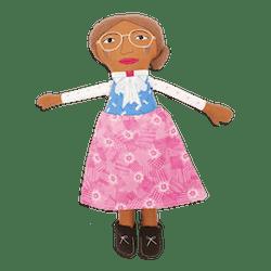 Collector's Edition Rosa Parks Trailblazer Doll