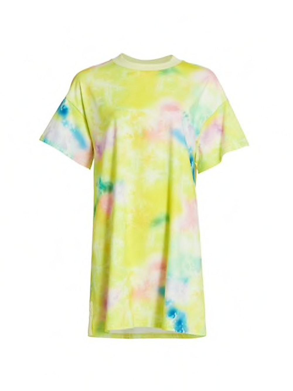 Alice + Olivia Garner Tie-Dye T-Shirt Dress
