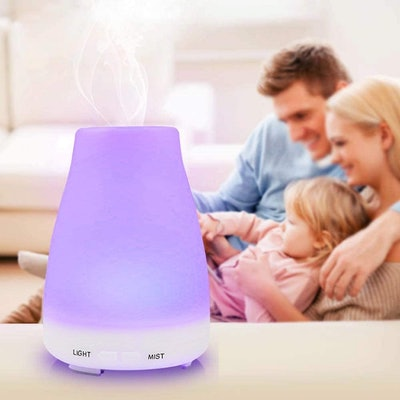 Homeweeks Colorful Essential Oil Diffuser