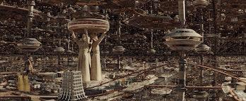 TVA city as seen in Loki Episode 1