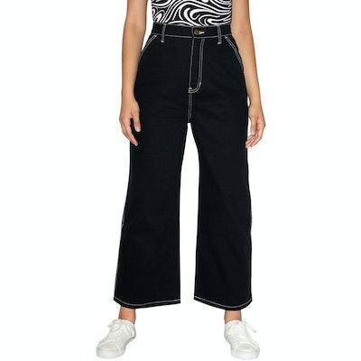 American Apparel Crop Carpenter Jeans