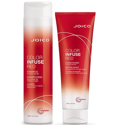 Joico Color Infuse Red Shampoo and Conditioner Set