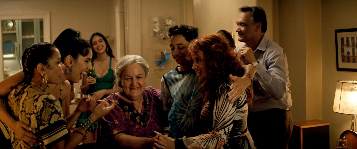 Abuela Claudia surrounded by family