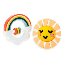 Lucy Darling Rainbow Teether Toy