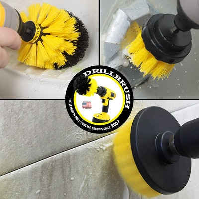 Drill Brush Attachment Cleaning Kit