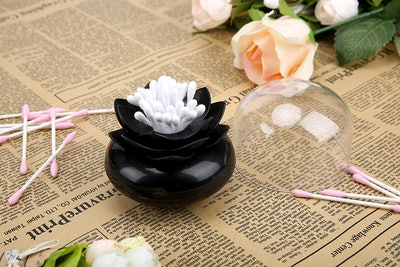 Bloss Lotus Cotton Swab Holder