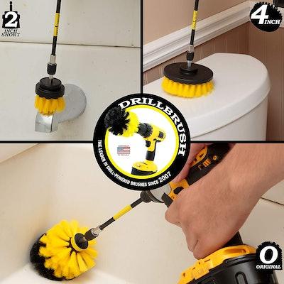 Drill Brush Power Scrubber Brush Set