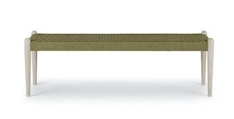 Otessa Sycamore Green Bench