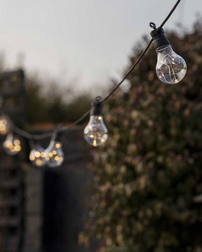 Solar Outdoor 10 LED Festoon Lights