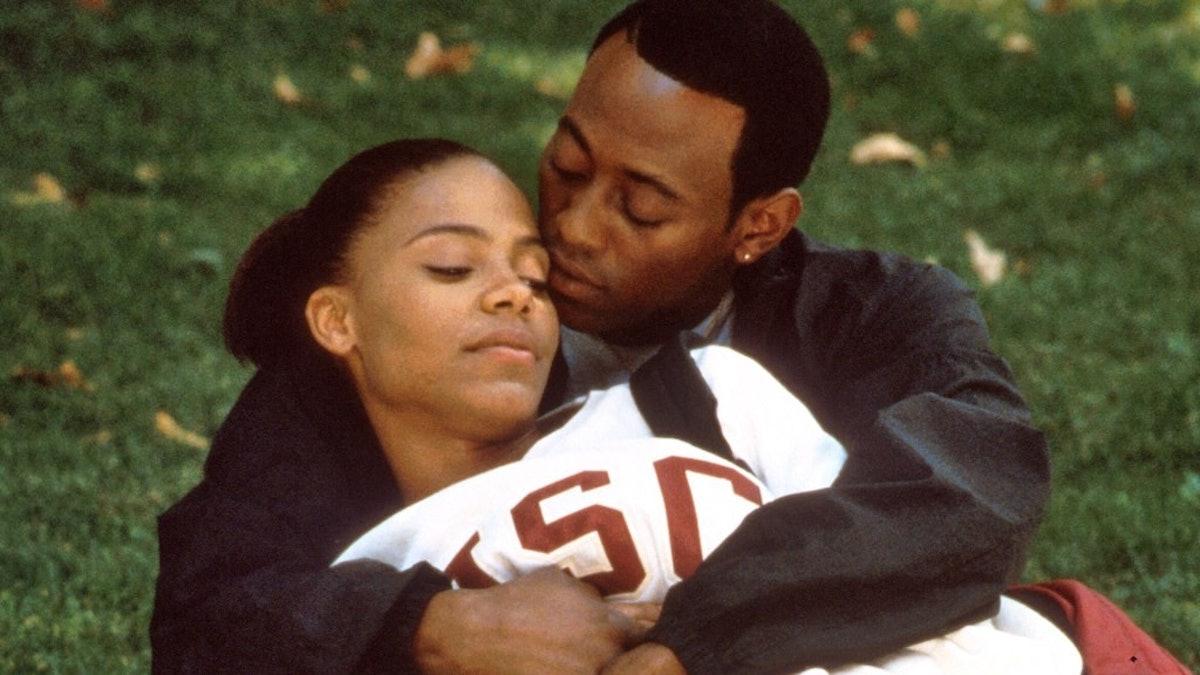 Sanaa Lathan and Omar Epps in 'Love & Basketball.'
