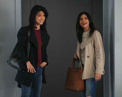 Grace Park and Floriana Lima in 'A Million Little Things' Season 3.
