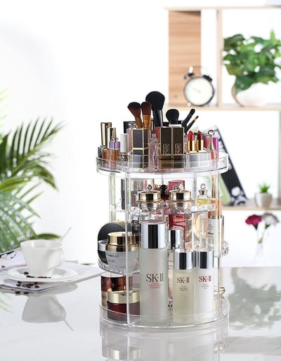 AMEITECH 360 Rotating Makeup Organizer