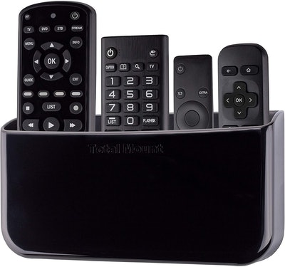 TotalMount Hole-Free Remote Holder