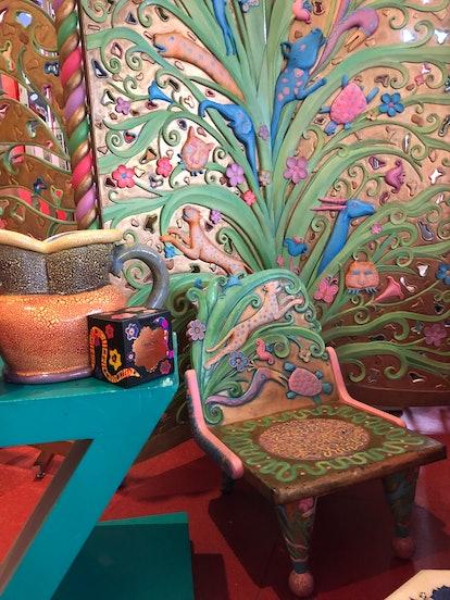Zandra Rhodes home decor