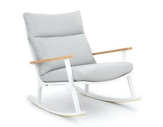 Eleya Cera Gray Rocking Chair