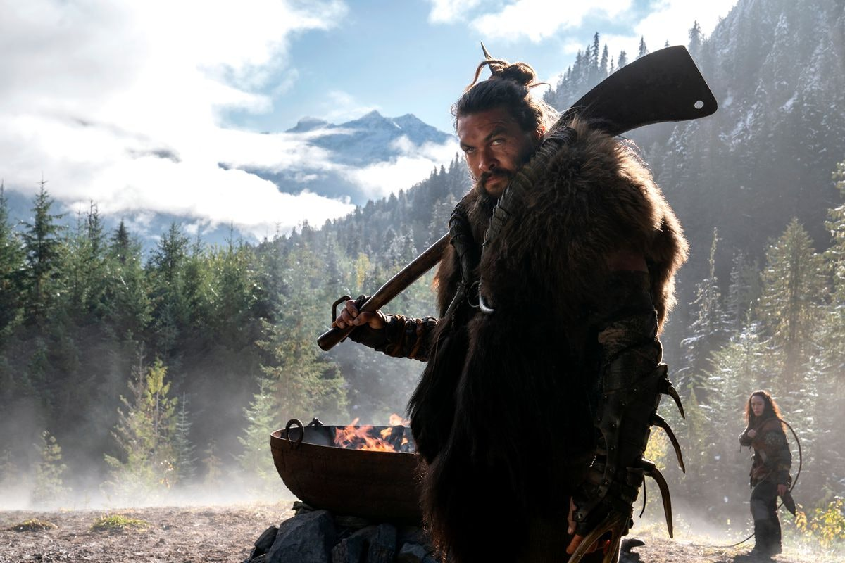 Jason Momoa as Baba Voss in 'See.'