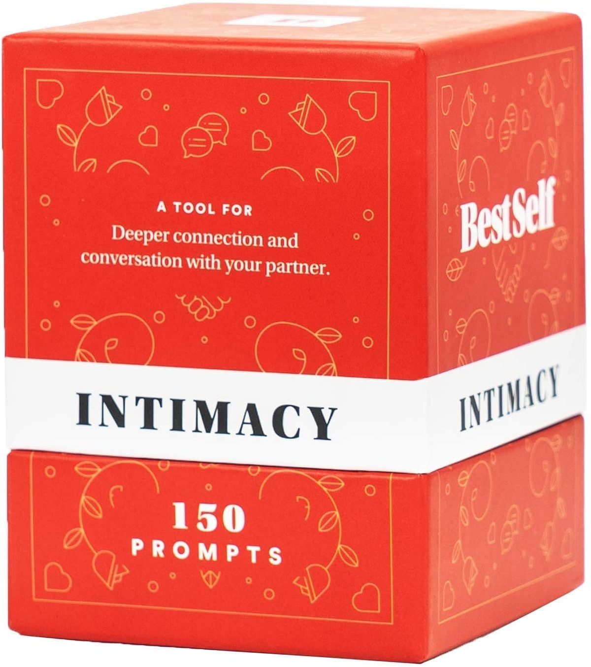 Intimacy Deck by BestSelf — 150 Engaging Conversation Starters for Couples to Strengthen Their Relat...
