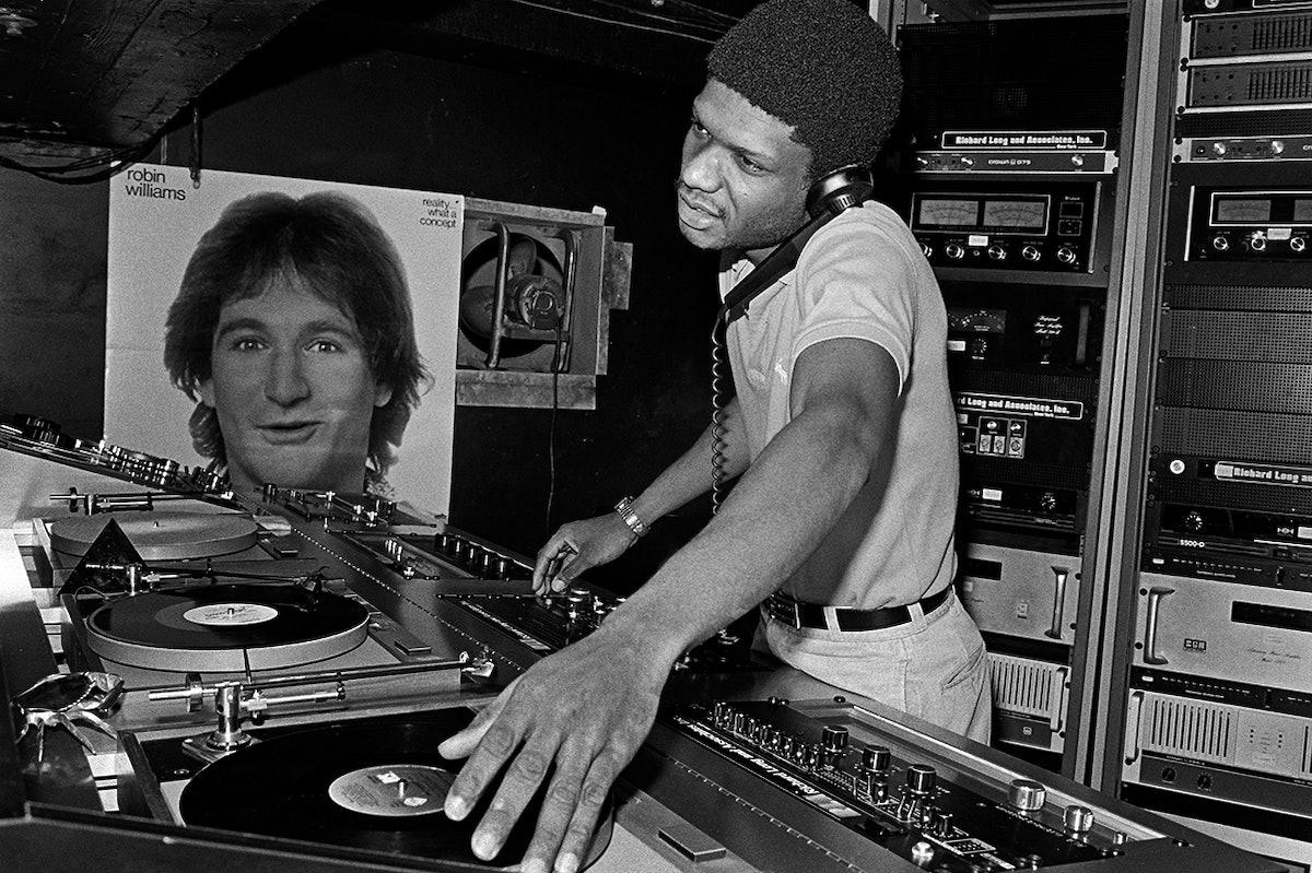 DJ Larry Levan at Paradise Garage