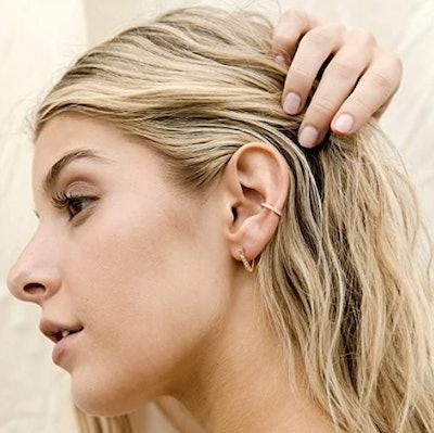 PAVOI Cubic Zirconia Ear Cuff