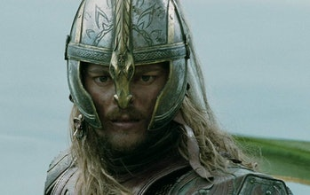 Karl Urban as Éomer in the Lord of the Rings film trilogy