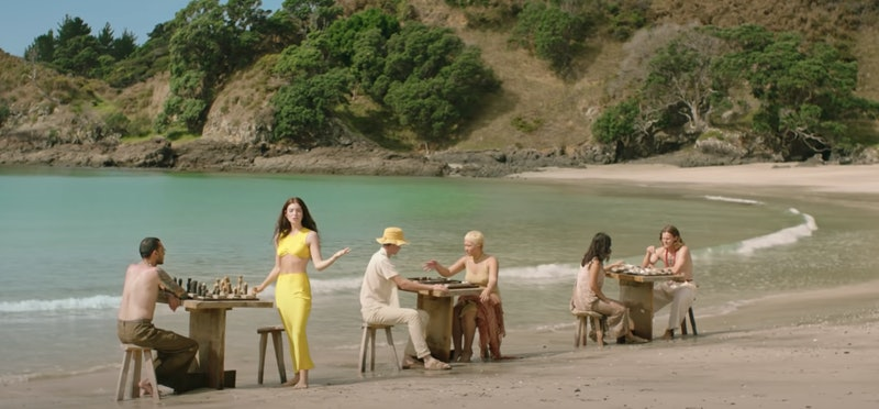 """Lorde's """"Solar Power"""" video was filmed at a stunning beach location"""