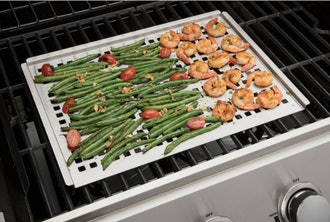 """Cuisinart 12"""" x 16"""" Stainless Steel Grill Topper"""