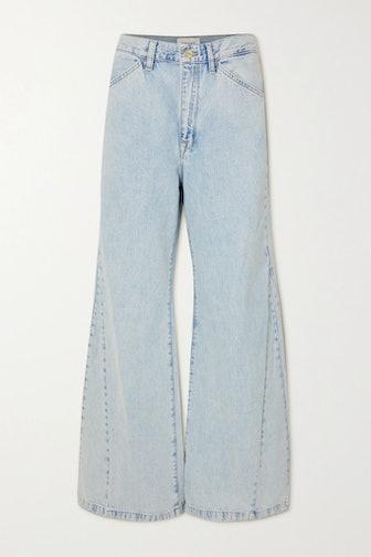 Le Baggy High-Rise Wide-Leg Jeans