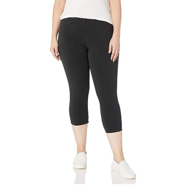 Just My Size Plus-Size Stretch Jersey Capri Legging