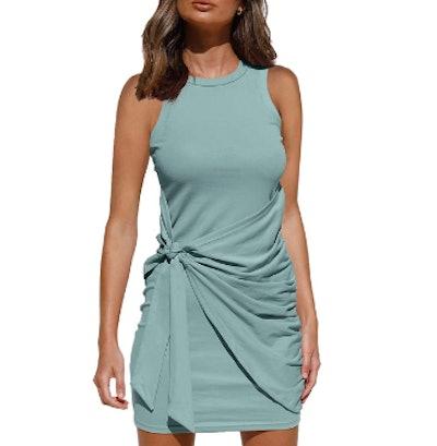 LILLUSORY Summer Casual Sleeveless Tank Dress