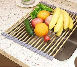 Freshmage Bamboo Dish Drying Rack