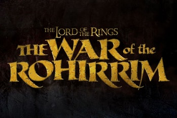 Lord of the Rings: The War of the Rohirrim logo