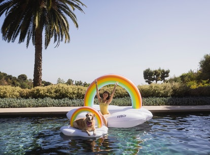 FUNBOY x Bark summer 2021 dog pool floats are way too good.